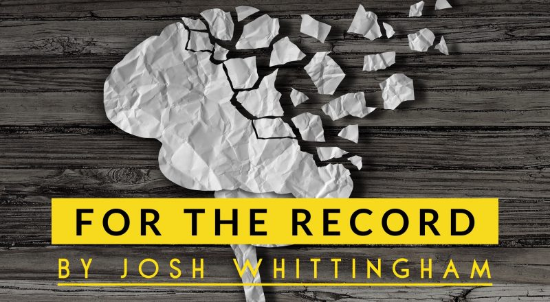 For The Record, an audio drama by Josh Whittingham.